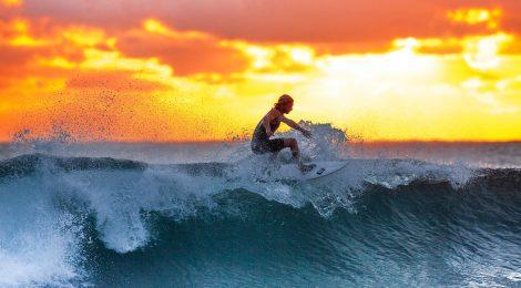Willst du auf der Welle reiten? So kann's dir gelingen …