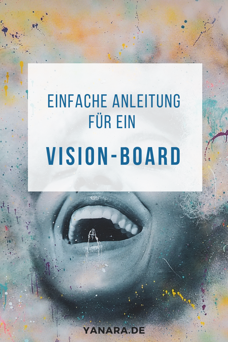 Ein Vision-Board ist eine der wirksamsten Methoden, um dein Unterbewusstsein anzuregen und mit deiner Vision in Kommunikation zu bleiben.